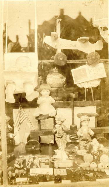 Toy Store Window, via Flickr.