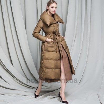 Пальто-пуховик удлиненное Royal Cat с шерстяной подкладкой