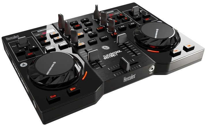 Hercules DJ Control Instinct USB DJ Controller with Audio Outputs , Retail Box, 1 year Limit warranty | #electronics #technology #tech #electronic #device #gadget #gadgets #instatech #instagood #geek #techie #nerd #techy #photooftheday #computers #laptops #hack #screen #rosstech #dj #speakers #audio