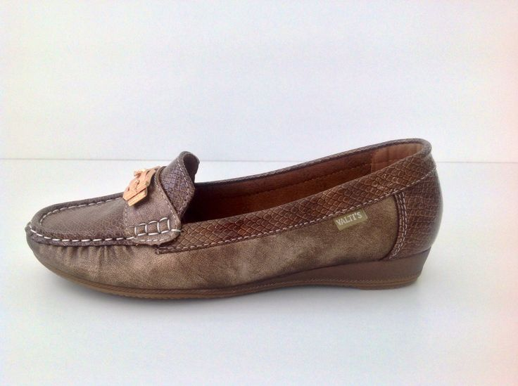 Modelo XS-184 zapato plano piel sintética color bronce precio 19'95€