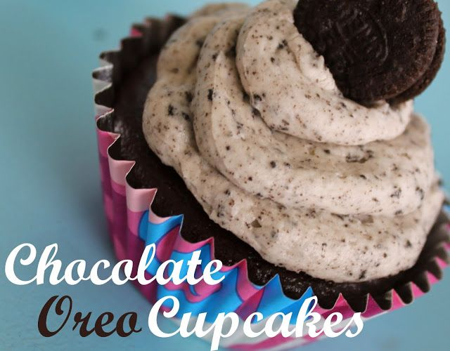 Chocolate Oreo Cupcake Recipe