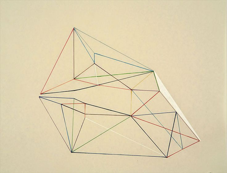 """Victoria Haven, Untitled (fifth), 2009, Ink on gampi paper, 24"""" x 27"""""""