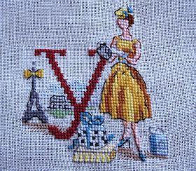 В поисках вдохновения: Алфавит Парижанки по-русски от Les Brodeuses Parisiennes