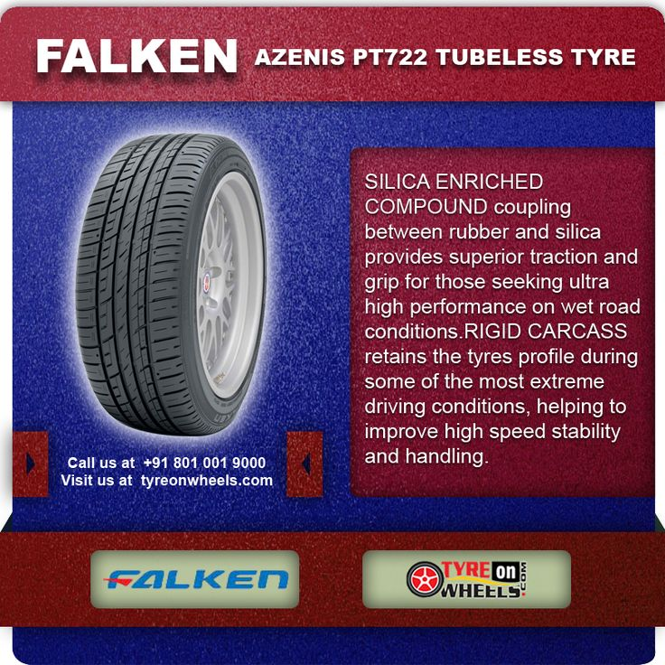 Buy Online FALKEN AZENIS PT722 Tubeless Tyres & get fitted with Mobile Tyre fitting Vans at your doorstep at Guaranteed Low Prices call us +91 801 001 9000 or visit us at: http://www.tyreonwheels.com/Tyre/brand/carTyreBrands.php?brand=Falken