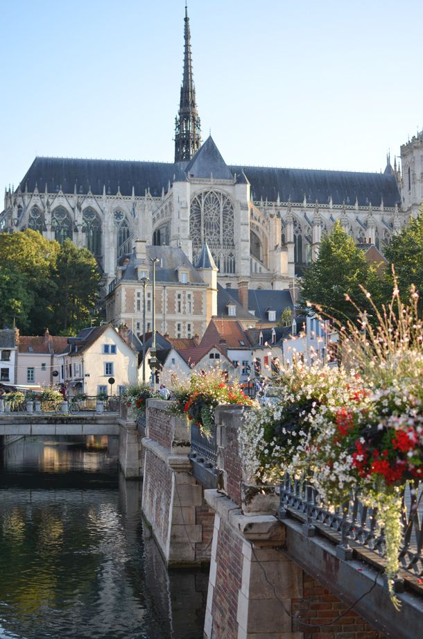 A view of the cathedral in Amiens, France | Love in a Suitcase