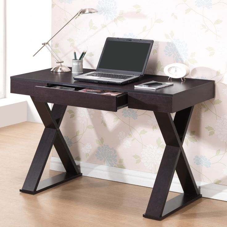 Description The Techni Mobili Trendy Desk With Drawer Combines Style And Quality A Simple Design Made Of Heavy Duty Particle Board Panels