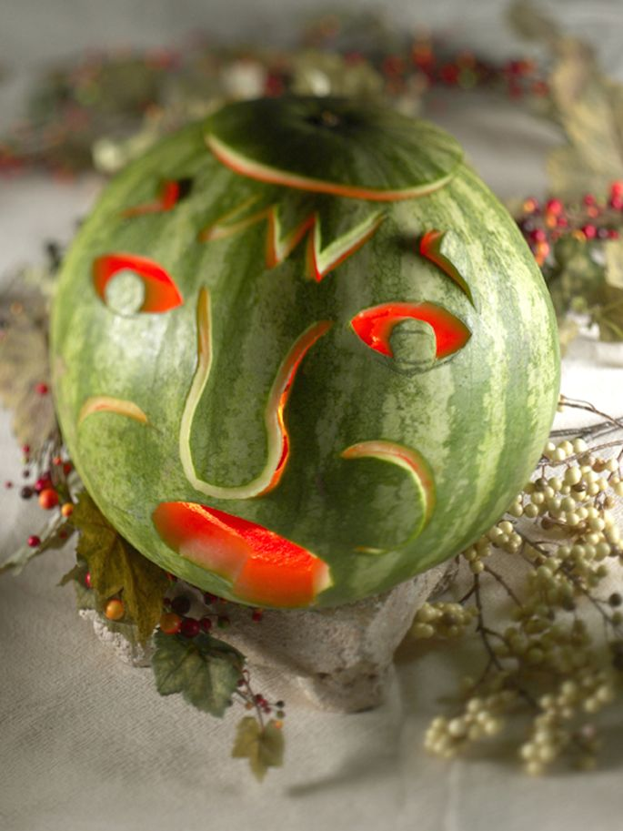 Best halloween watermelons images on pinterest