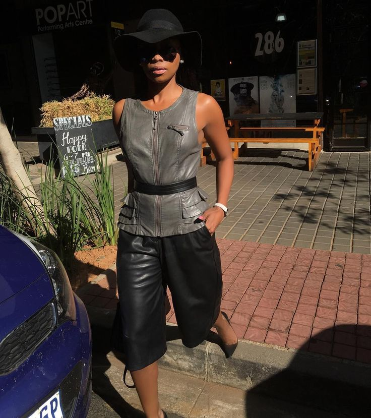 ....Thursdays in the 'Burg!!! Leather on leather... #spotted…