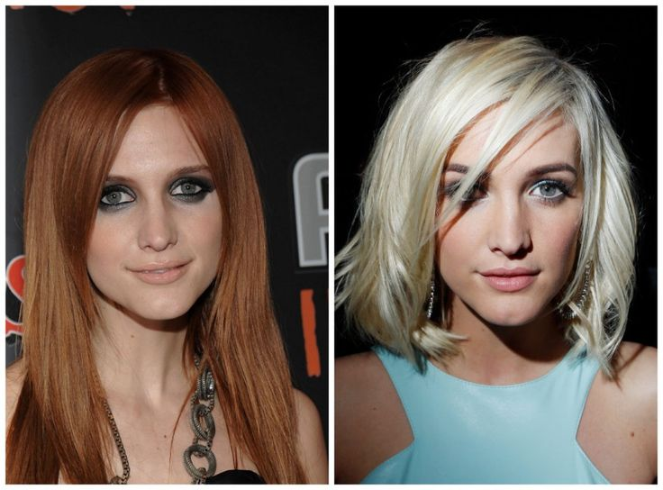 10 примеров того, как цвет волос меняет человека 4
