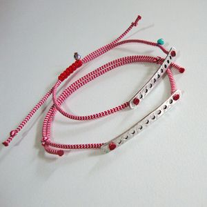 March bracelets  https://www.facebook.com/The.red.button/