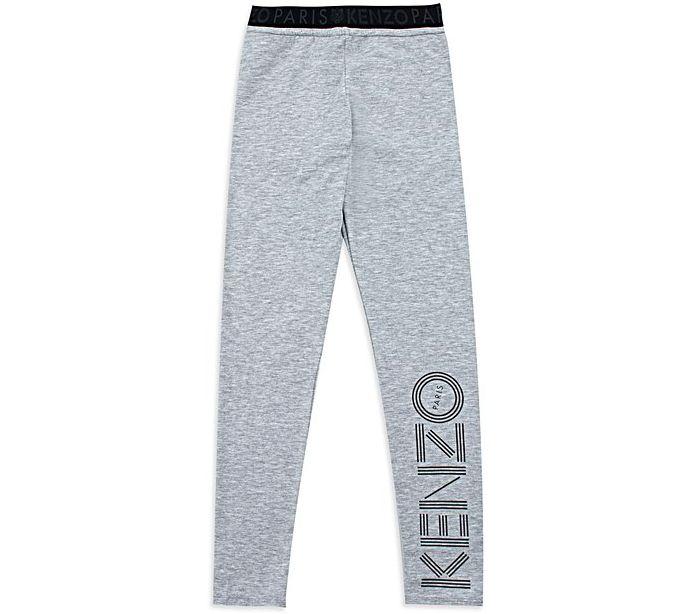 Base Childrenswear Introduces Kenzo for SS17 - Girls Logo Print Leggings