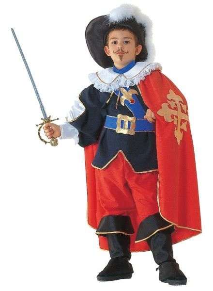 Musketier Kinder Kostüm, Karnevalskostüm Musketier