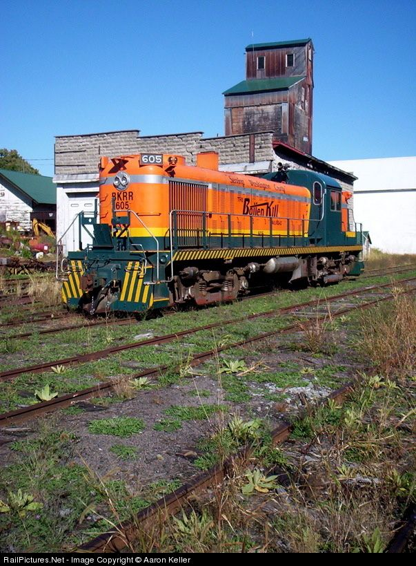 RailPictures.Net Photo: BKRR 605 Batten Kill Railroad Alco RS-3 at Greenwich, New York by Aaron Keller