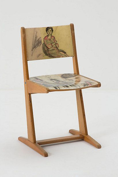 Drawing Study Chair #anthropologie