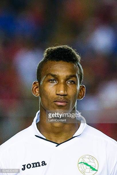 Yosel Piedra of Cuba looks on prior the match between Cuba and Panama as part of the Copa America Centenario Qualifiers at Rommel Fernandez Stadium...