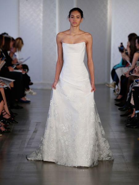 Vestidos de novia palabra de honor 2017: ¡El diseño más deseado! Image: 17