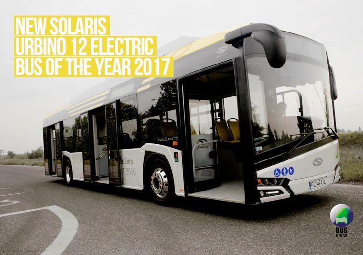 Solaris Urbino 12 Electric Bus Of The Year 2017