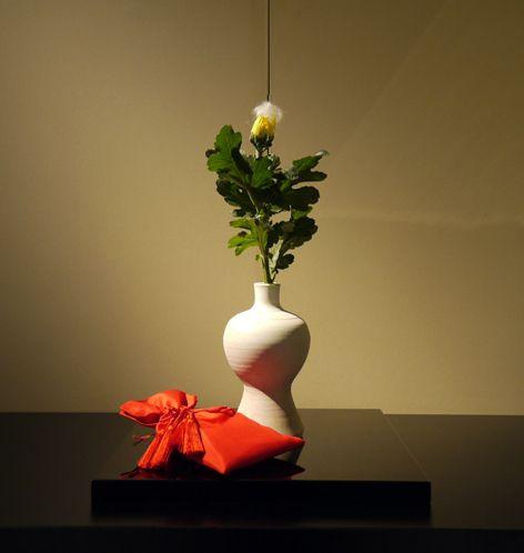 $日本のもの、こと 桃兎の部屋-重陽:菊の被せ綿