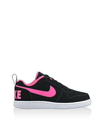 Nike Sneaker Court Borough Low (Ps)  [Nero/Rosa]