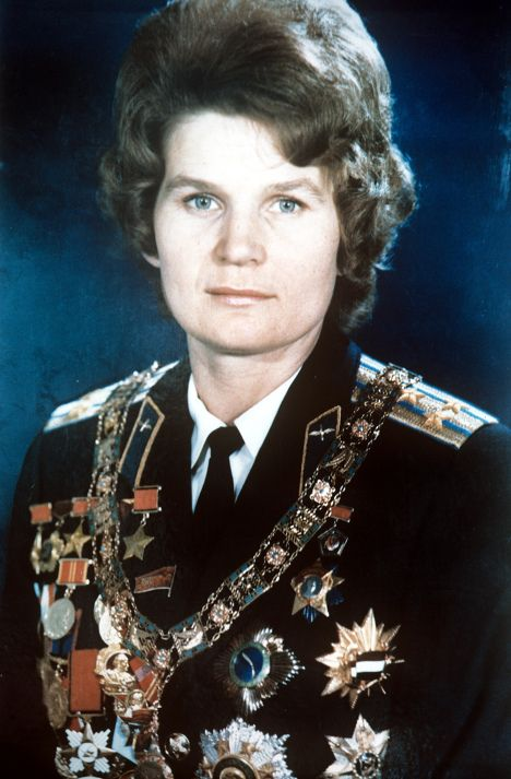 | Valentina Tereshkova, Woman of Cosmic Caliber. First woman in space.