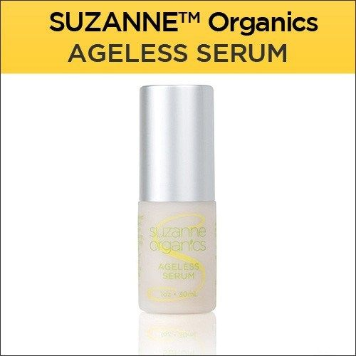 SUZANNE Organics Ageless Serum: Note: This product is also available in a money-saving… #Suzanne_Somers #ageless #aging #antaging #anti