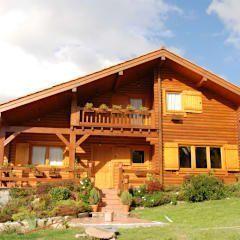 Casas rústicas por Rusticasa #casasrusticasdemadera