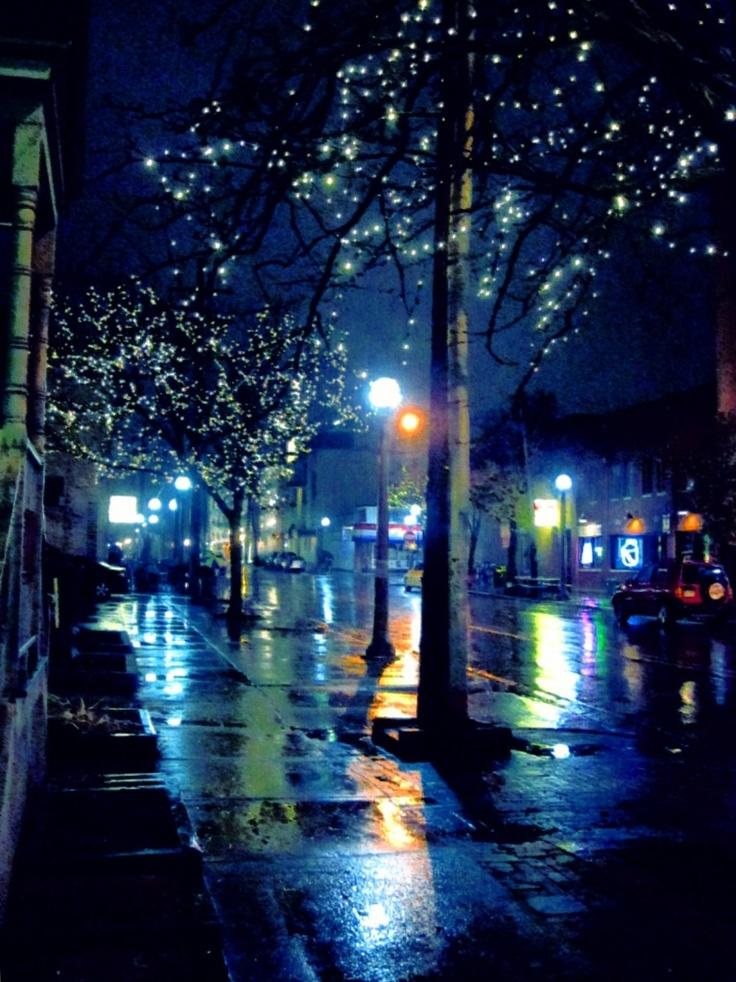 Rainy Night On Church St. #art
