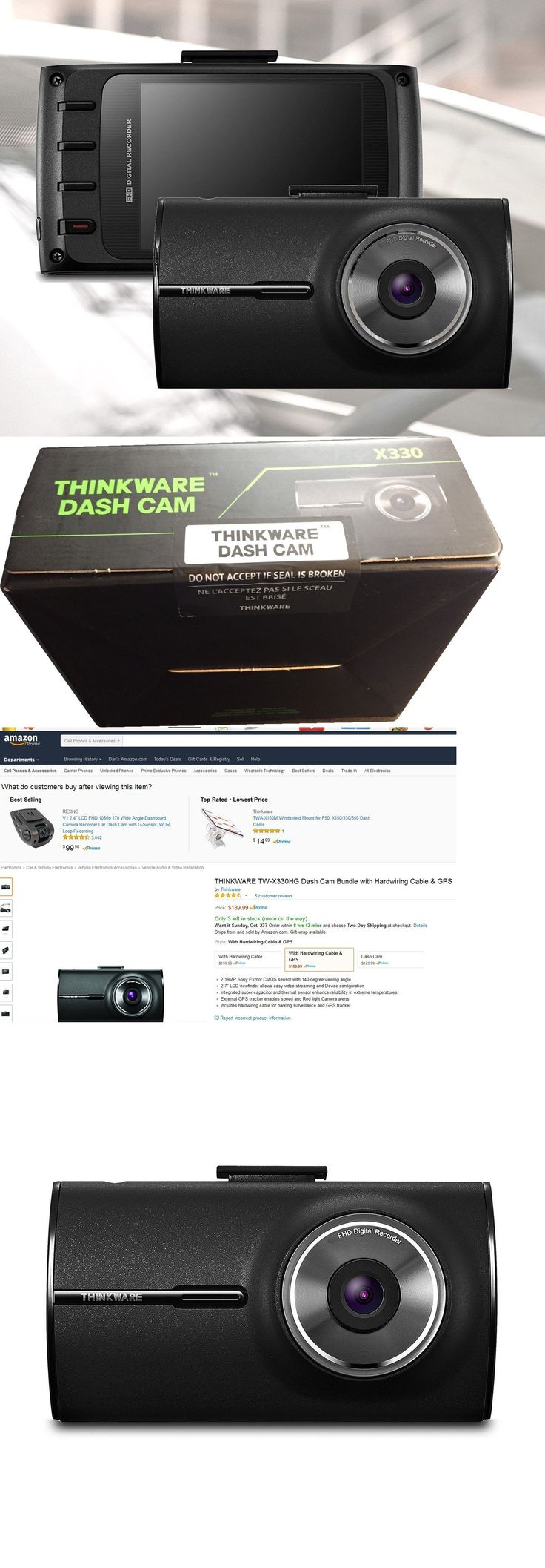 Other Car Video Thinkware X330 Bundle 1080P