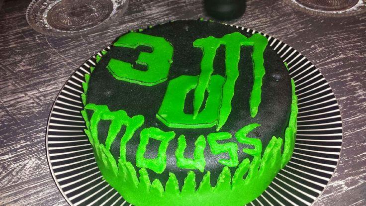 Gâteau Monsters energy