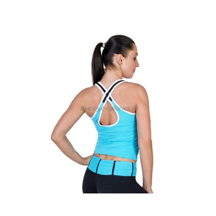 Женская спортивная майка для тренировок Mandy купить в интернет-магазине Бай бай калории
