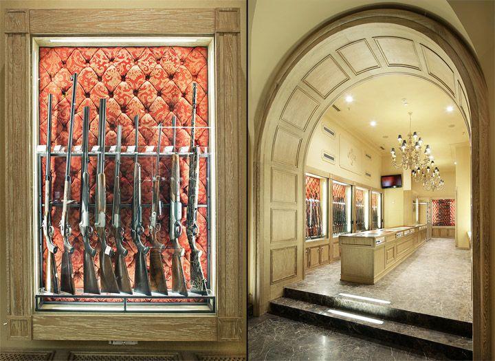 Оружейный салон в Москве | Дизайн интерьера, декор, архитектура, стили и о многое-многое другое