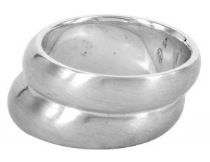Double Angled ring in sterling silver ring. http://www.lordcoconut.com/shop/double-angled-ring/