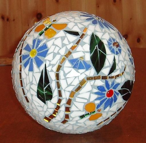 Mosaic Gazing Ball - by ThompVN