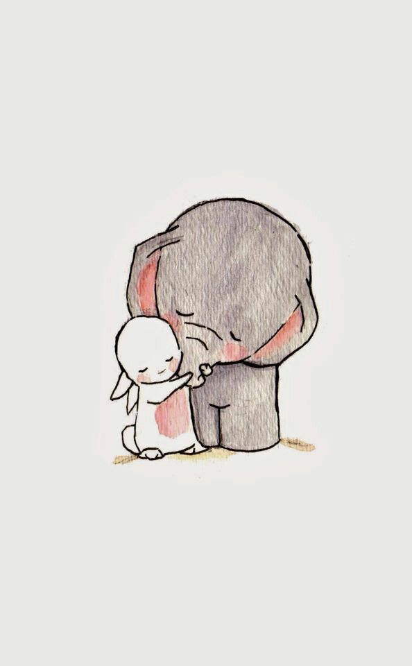 Pin By Smol Kid On Wallpapers Cute Tumblr Wallpaper Cute Wallpapers Elephant Wallpaper