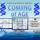 [Literary Genre Series]  COMING OF AGE  by James D. Whitaker    Product/Materials Preface [Grades 5-12]     I have provided over 140+ pages of enthrallin...