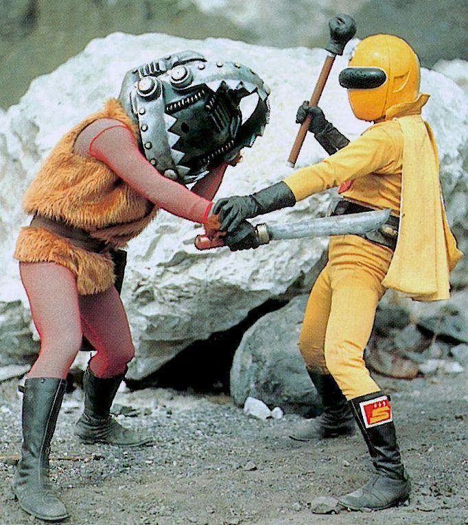 Yellow Sentai Goranger #powerrangers #kaiju