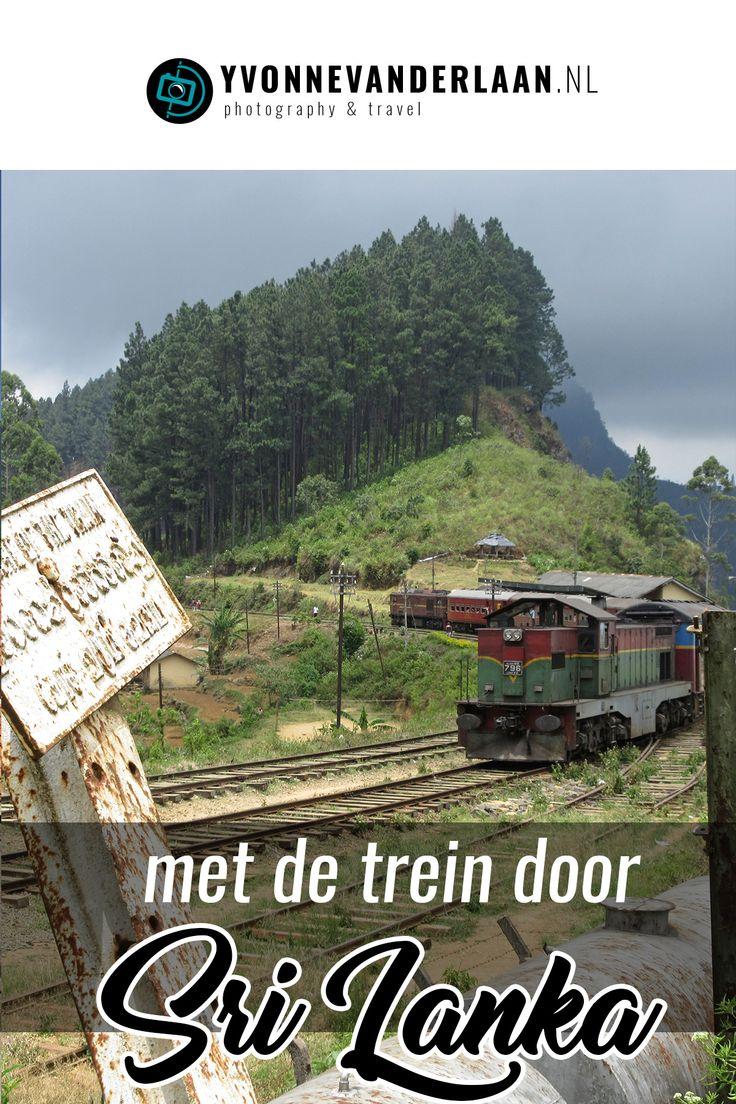 de trein is de manier om door sri lanka te reizen niet
