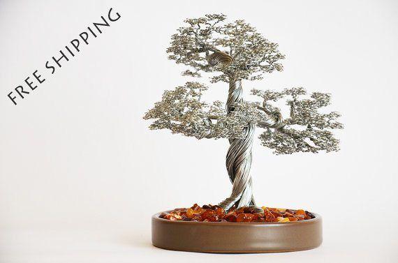 decoration_arbre_original_bonsai_fil_de_fer_argente_2