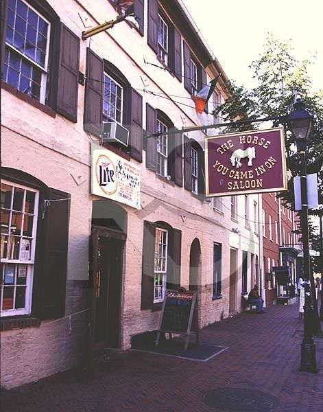 The Horse You Came In On Saloon, Fells Point, Baltimore -oldest saloon in the United States.