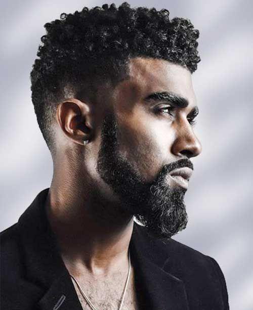 Black Guys with Hairstyles-7 | Beard | Black men haircuts, Black men ...