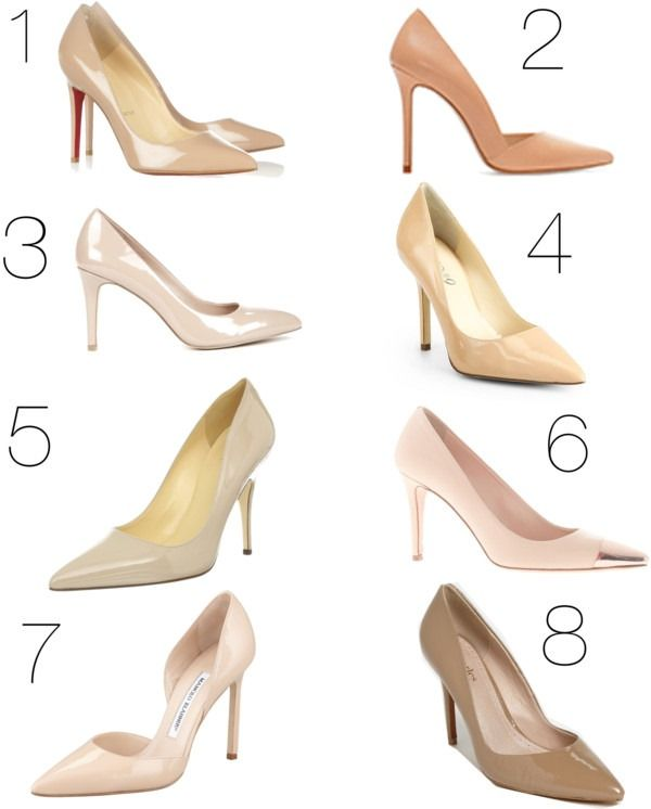 Every girl should have the perfect nude pumps!