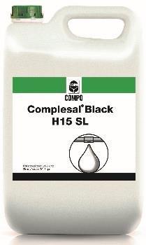 Complesal® Black ΔΟΣΟΛΟΓΙΑ 1-5 λίτρα /στρέμμα Υγρό λίπασμα χουμικών - φουλβικών οξέων. Ο συνδυασμός αυτός βελτιώνει τη σύσταση του εδάφους στο μικροπεριβάλλον των ριζών ενώ ταυτόχρονα αυξάνει τη χηλικοποίηση και απορρόφηση των ανόργανων στοιχείων.