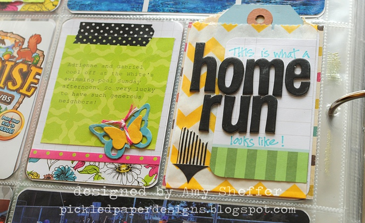 Pickled Paper Designs: Project Life, Week 24