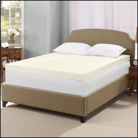 serta ultimate 4 inch memory foam mattress topper