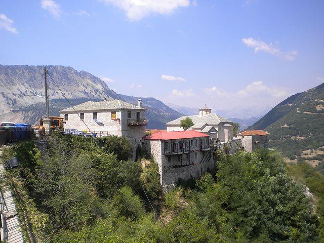 Moni Spilias, Argithea, Central Greece. http://www.blogtravels.gr/2012/08/moni-spilias-argithea/