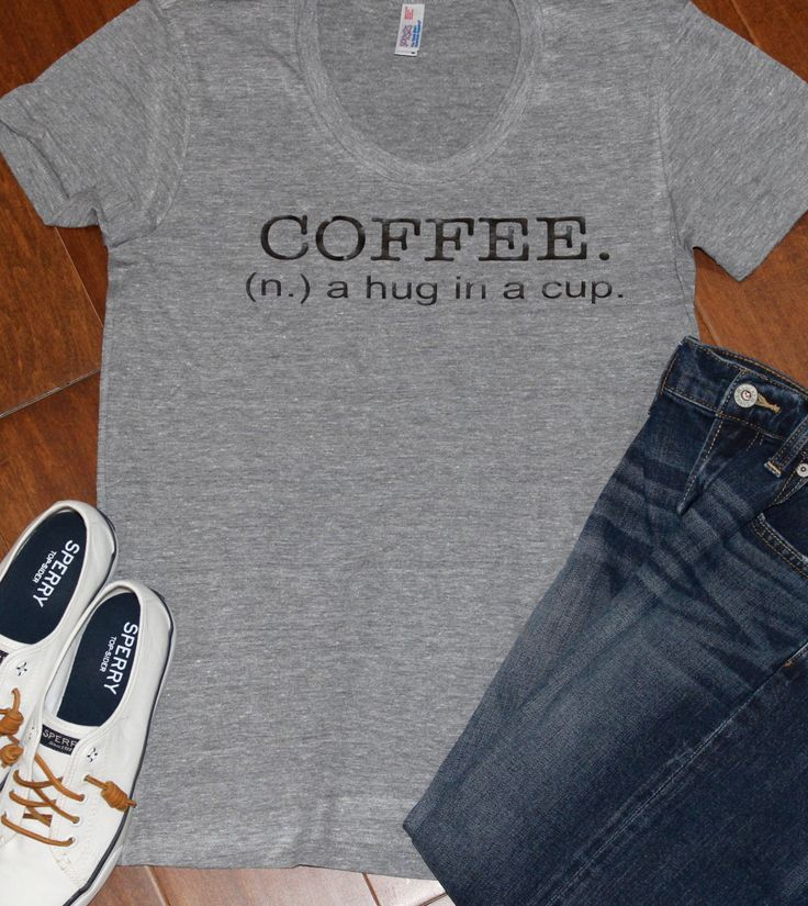 Coffee t-shirt shirt for women, Coffee, A Hug In A Cup, Coffee Shirt, Coffee T Shirt, A Hug In a Cup, Coffee Shirt, Coffee, A Hug In A cup by PurpleAspen on Etsy