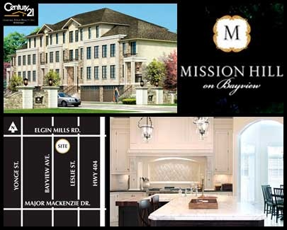 Mission Hill on Bayview Townhouses by St. Regis Homes - Exclusive VIP Access is NOW OPEN To First Access Members - Sign Up today for FREE Membership! Join now today! http://www.century21.ca/leadingedgerealty/New_Condos