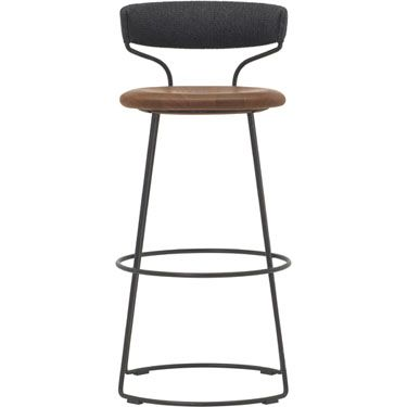 McGuire Furniture: Danish Cord Swivel Counter Stool: O-426ggggggggggg