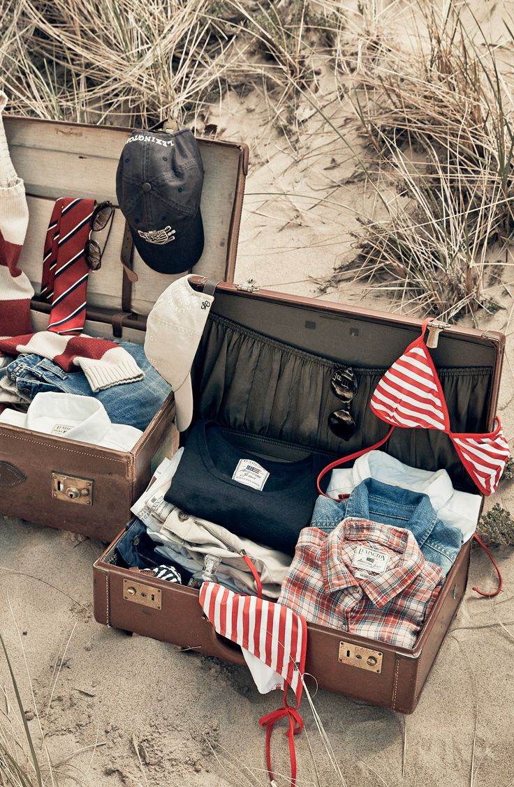 Packing for a summer vacation! Lexington Company 2015.