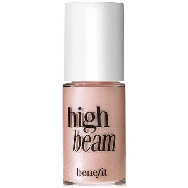 Benefit High Beam Liquid Face Highlighter Mini found on Polyvore featuring beauty products, makeup, no color, benefit beauty products, benefit cosmetics, eye brow makeup, eyebrow makeup and benefit makeup